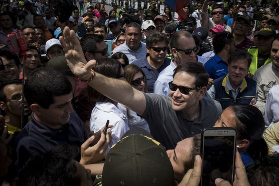 Marco Rubio Jets Into Colombia as More Aid Arrives for Venezuela