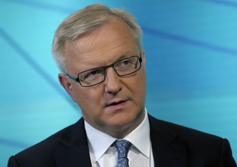Spain Has 'Open Mind' on Sovereign Aid Request, EU's Rehn Says