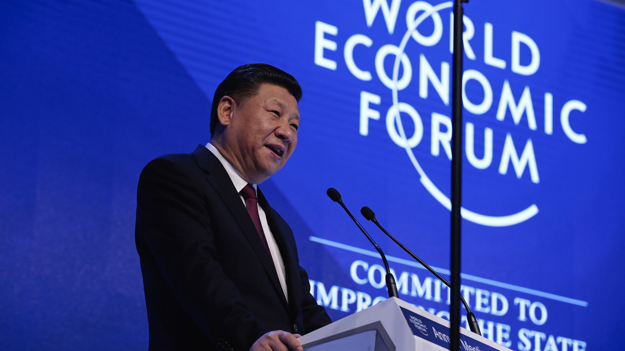 China's Xi Defends Globalization at World Economic Forum