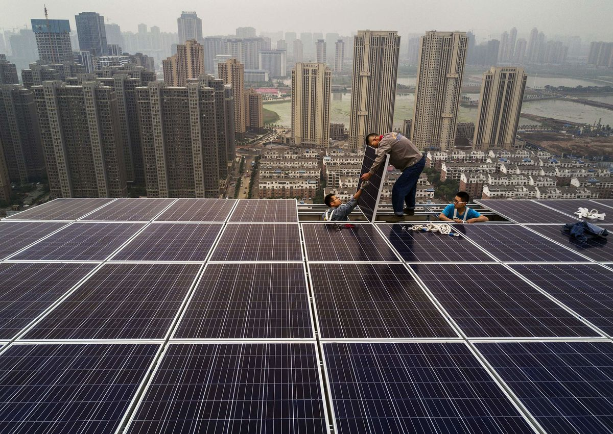 China S Solar Appetite Eats Into India S Clean Energy