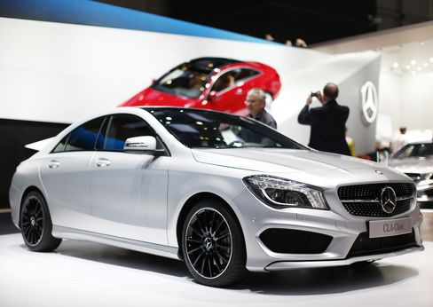 Mercedes Seeks Coupe Boost