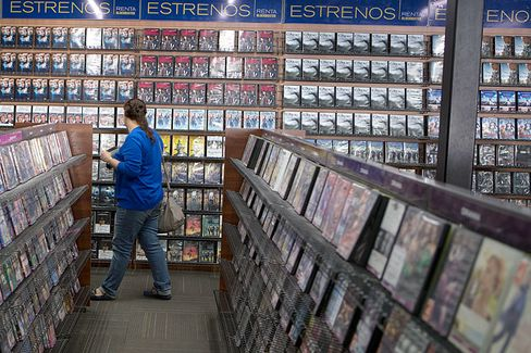 Blockbuster Is Still a Hit???South of the Border