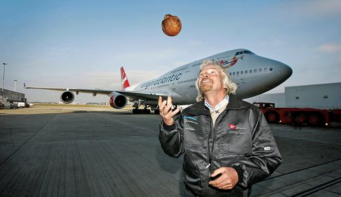 Virgin Atlantics Richard Branson