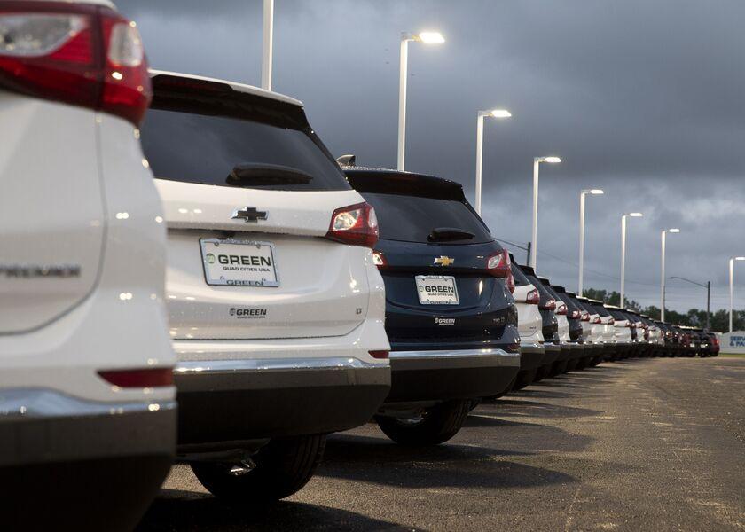 A General Motors Car Dealership Ahead Of Earnings Figures