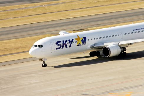 Skymark Air Drops After Lowering Profit Forecast