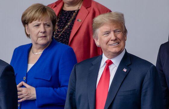 Merkel Rejects Trump's Link Between EU Trade, Defense Spending