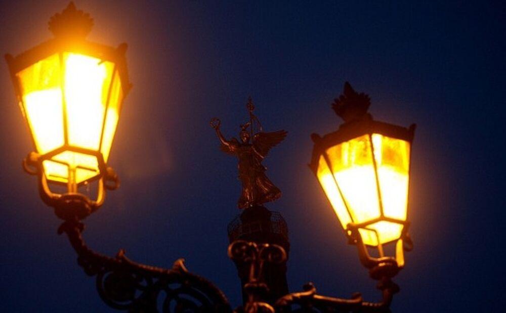 Street Lights, Gas Lit Outdoor Lights