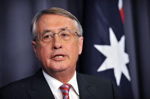 Australia's Former Deputy Prime Minister Wayne Swan