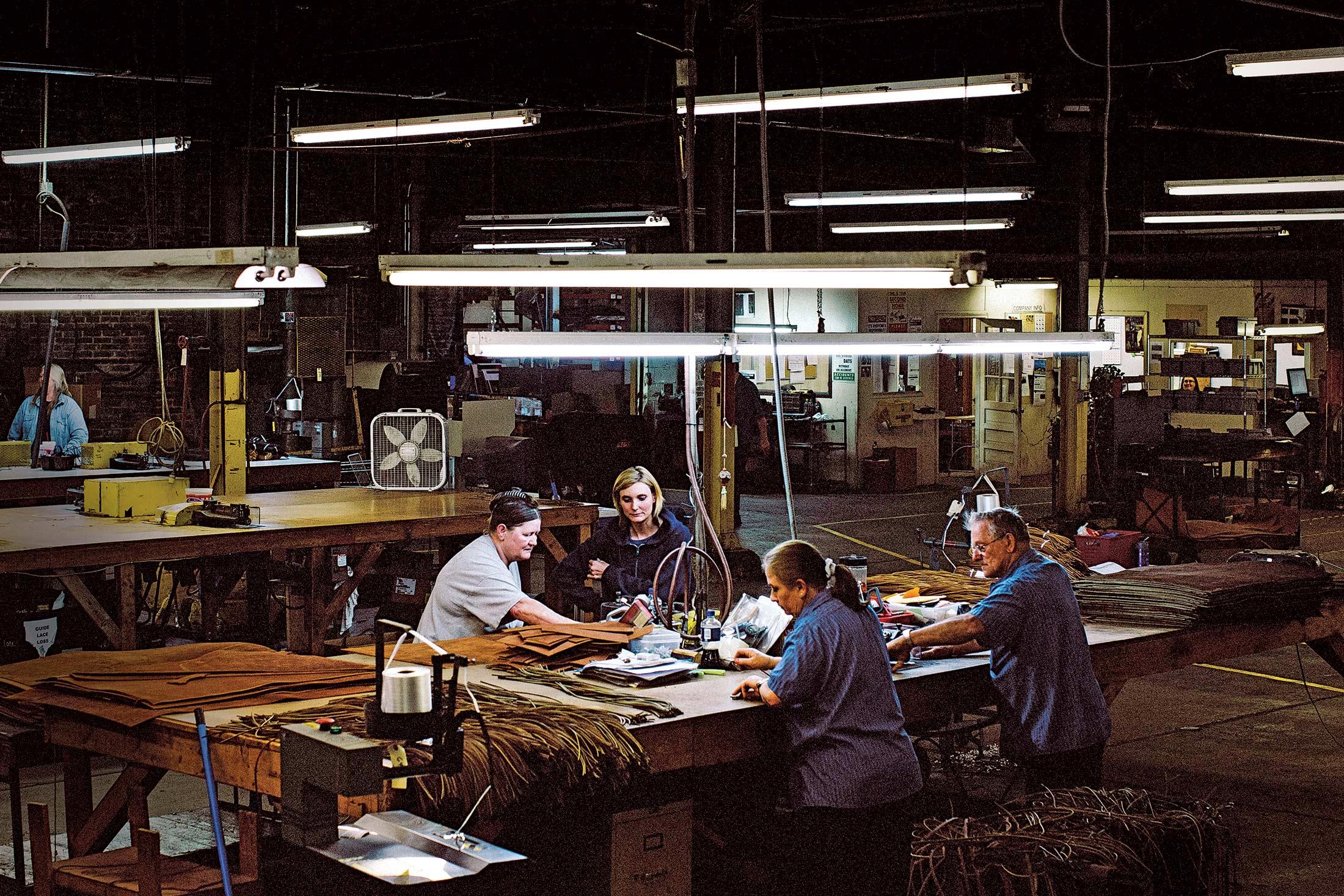 Lisa Howlett's production facility in Auburn, Ky.