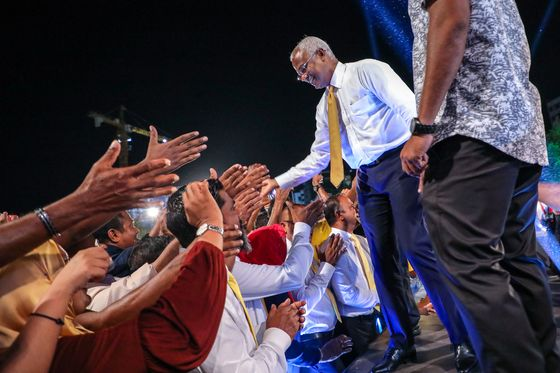 Maldives Boots Out Pro-China President in Election Surprise