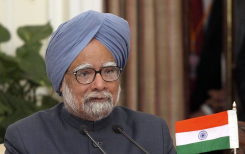 Singh Says India Economic Reforms Are Issue of National Security