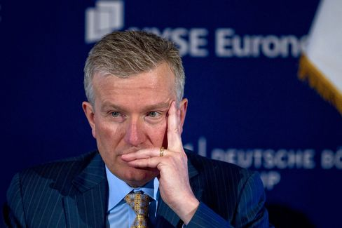 NYSE CEO Duncan Niederauer