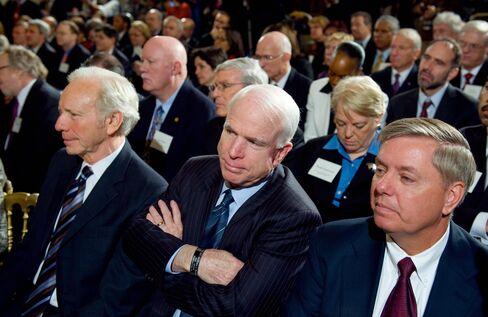 Arizona Republican Senator John McCain (
