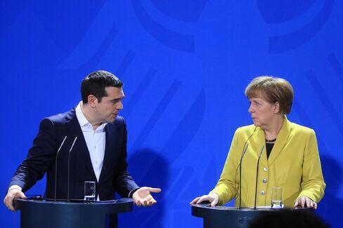 Tsipras & Merkel