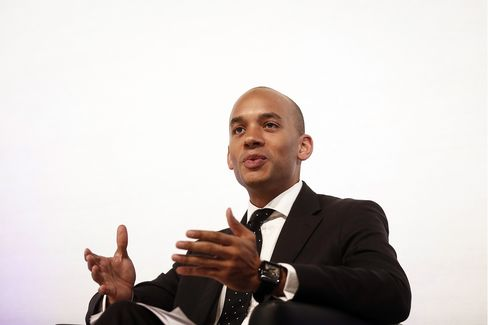 Labour Business Spokesman Chuka Umunna