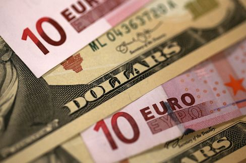 Euro Banknotes As Currency Declines To Nine-Year Low