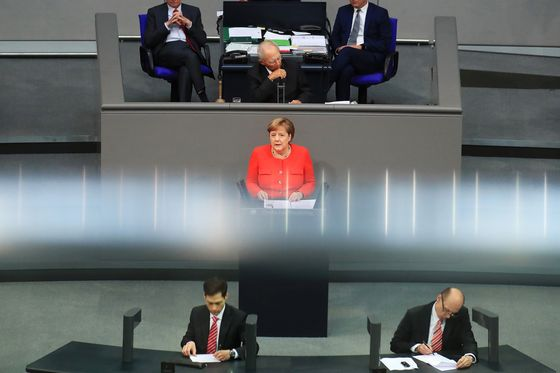 With Merkel in Charge, Europe Faces a Crisis on Many Fronts