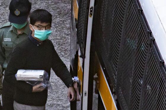 Hong Kong Activist Joshua Wong Jailed 13.5 Months Over Protest