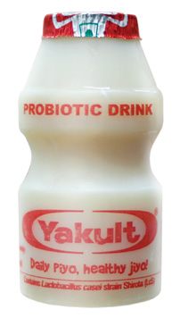 The bacteria-laced drinks are pitched to aid intestinal flora