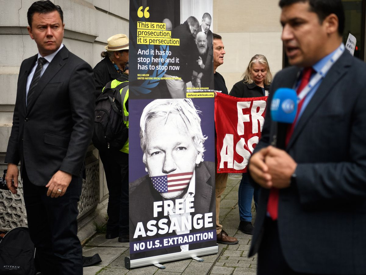 Assange Denied Bail After Lawyers Said Virus Put Life in Danger