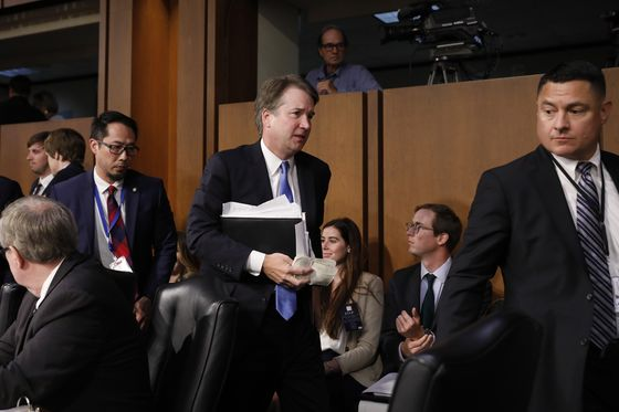 The Latest on Kavanaugh's Confirmation Hearing