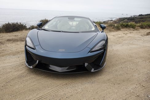 The 570GT can hit 60 mph in 3.4 seconds … or faster, according to McLaren reps.