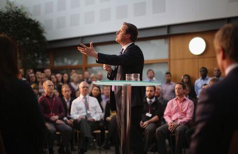 U.K. Prime Minister David Cameron