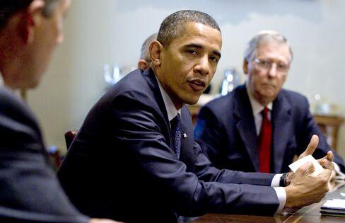 Obama, Republicans Focus on Narrower Deal on U.S. Debt as De