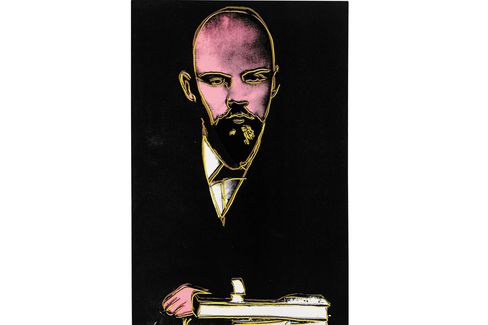 Andy Warhol, Lenin (1986).