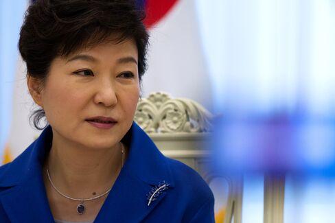 South Korean President Park Geun Hye Interview