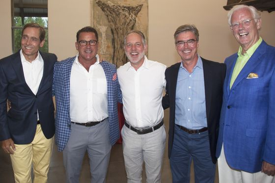 Wall Streeters in the Hamptons Turn Out for Chad Leat at Parrish Gala