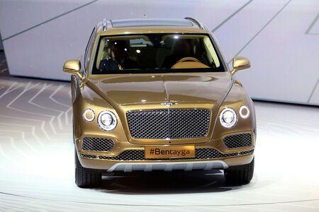 The Bentley Bentayga at the Frankfurt Motor Show.