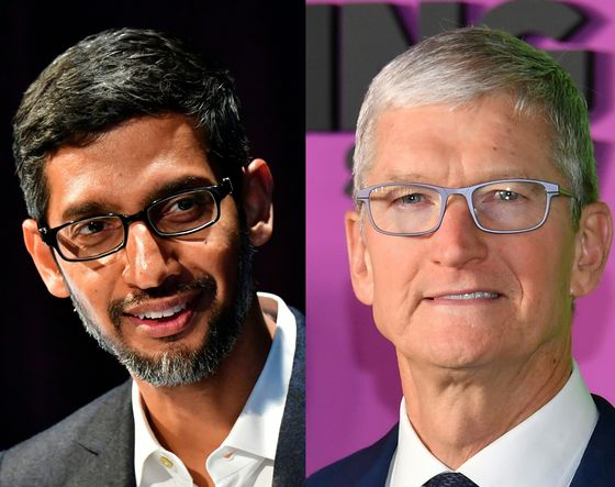 Cook, Pichai Join CEOs Urging Congress Pass Path to Citizenship