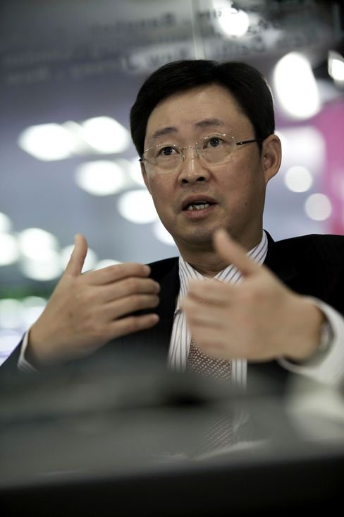 Xiong Weiping, CEO of Aluminum Corp. of China Ltd.