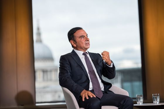 Ghosn Aimed for Second $80 Million Nissan Payout