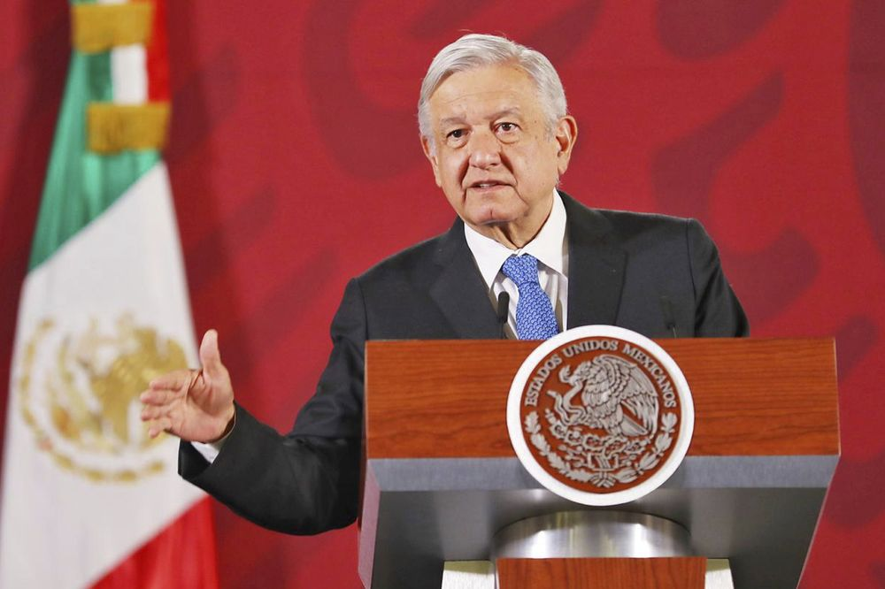 Andres Manuel Lopez Obrador Source: GDA via AP Images