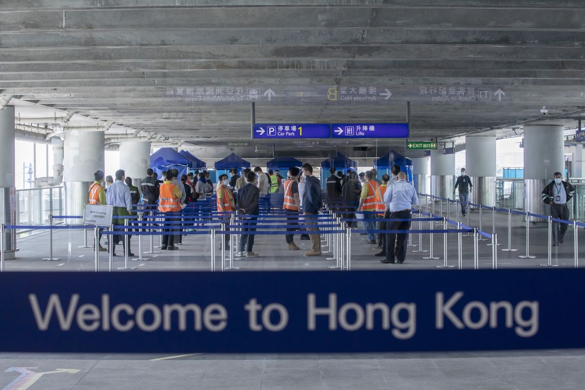 Hong Kong Said to Delay Plan for Antibody Test to Cut Quarantine
