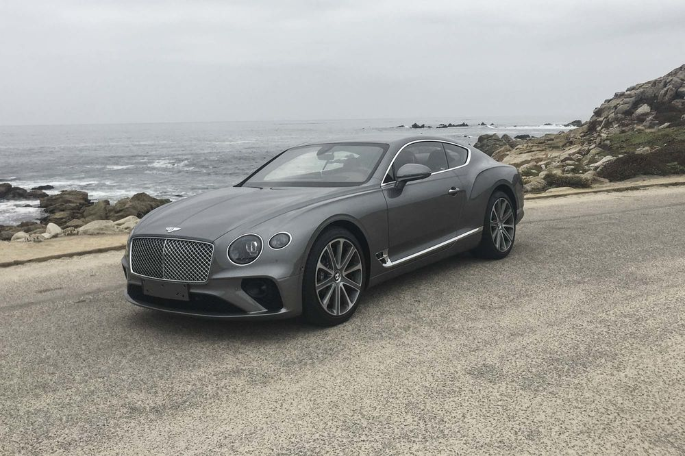 Relates To The 2019 Bentley Continental Gt Review A Gangster In Savile Row Suit