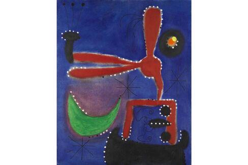 Joan Miró, Peinture, 1954