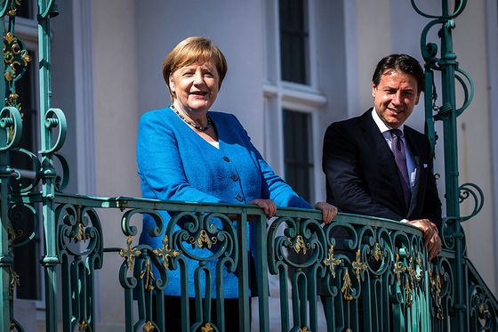 Merkel and Conte Show Common Front in Push for Recovery Fund