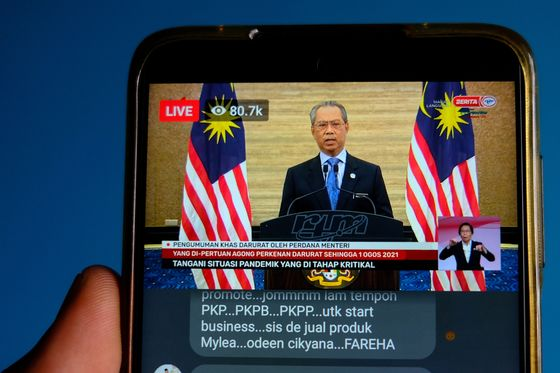 Malaysia Leader Accused of Power Grab After Parliament Suspended