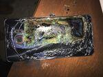 A damaged Samsung Galaxy Note 7. Photographer: Shawn L. Minter via AP Photo
