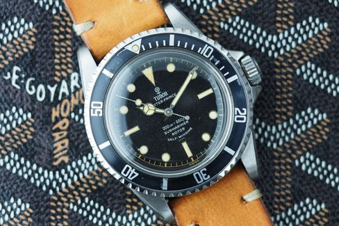 There's no snowflake hand on this Tudor Submariner.