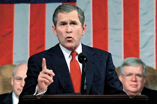 George W. Bush, 2001