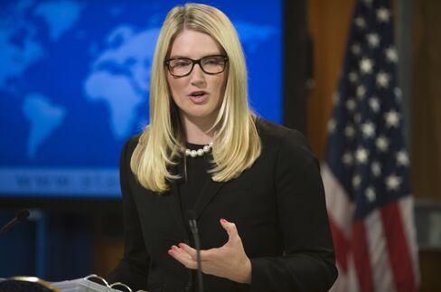 U.S. State Department Deputy Spokesperson Marie Harf