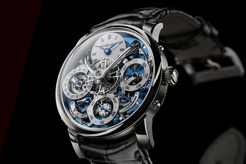 No question, this is MB&F's most ambitious watch yet.
