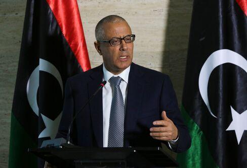 Former Prime Minister of Libya Ali Zaidan