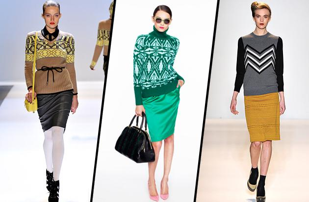 For the Creative - The Patterned Knit
