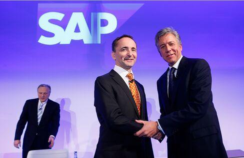 SAP Co-CEOs Bill McDermott and Jim Hagemann Snabe