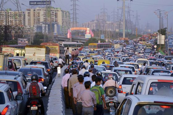 Will Future Megacities Be a Marvel or a Mess? Look at New Delhi